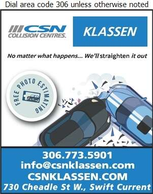 Klassen Autobody Ltd - Auto Body Repairing Digital Ad