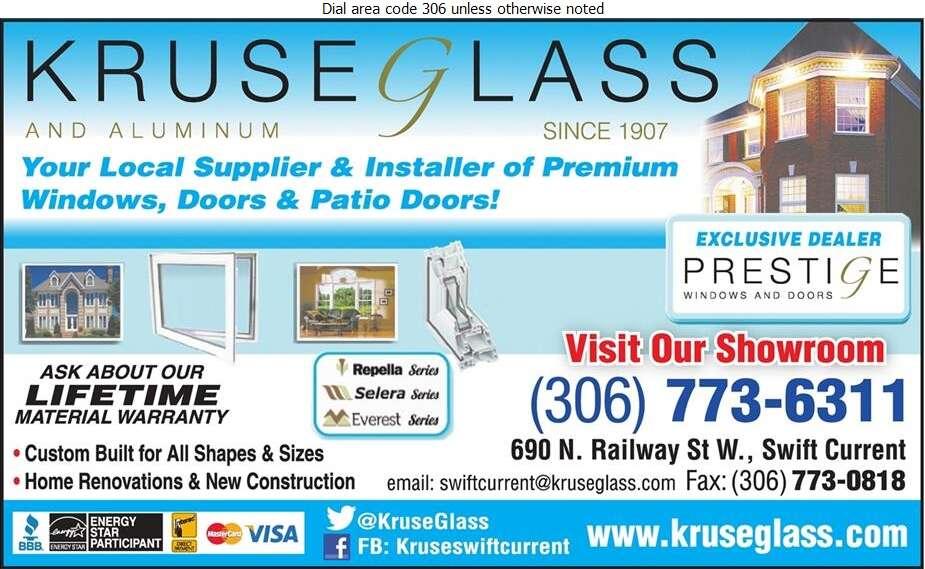 Kruse Glass & Aluminum - Windows Digital Ad