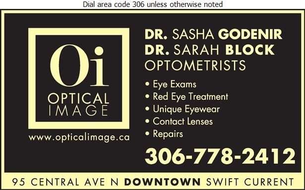 Optical Image - Optical Dispensers Digital Ad