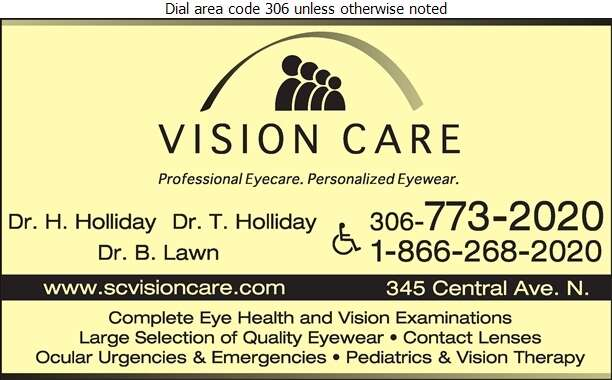 Vision Care Clinic (Dispensary) - Optometrists Digital Ad