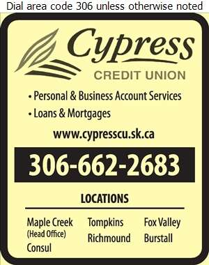 Cypress Credit Union Limited (CREDENTIAL SECURITIES) - Credit Unions Digital Ad