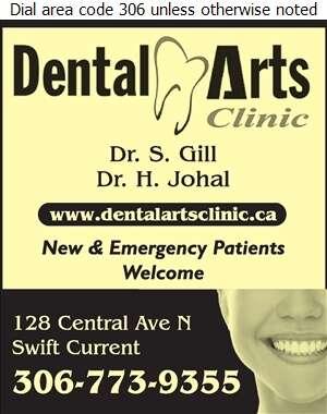Dental Arts Clinic - Dentists Digital Ad