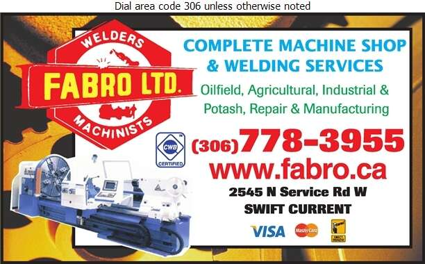 Fabro Ltd (Cory Schultz) - Machine Shops Digital Ad