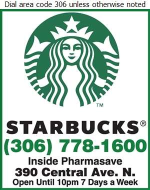 Starbucks in Pharmasave - Coffee Houses Digital Ad