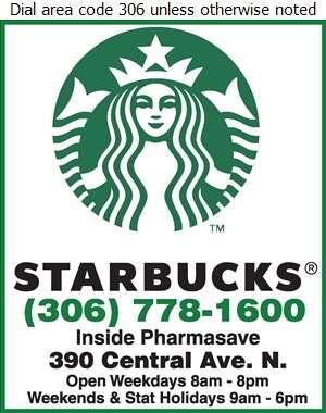 Starbucks in Pharmasave - Coffee Houses Digital Ad
