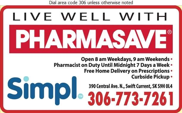 Pharmasave (Prescriptions) - Pharmacies Digital Ad