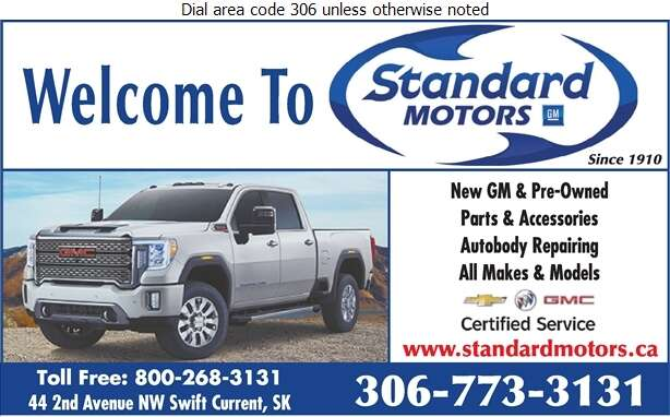 Standard Motors (Parts Fax) - Auto Dealers New Cars Digital Ad