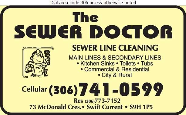 Sewer Doctor - Plumbing Contractors Digital Ad