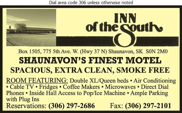 Inn Of The South - Motels Digital Ad