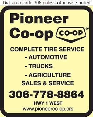 Pioneer Co-operative Association Ltd - Tire Dealers Retail Digital Ad