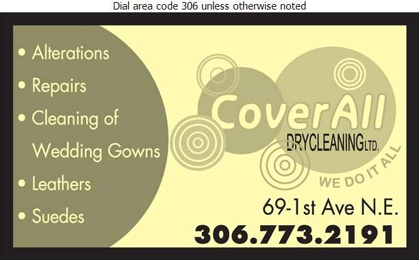 CoverAll Dry Cleaners - Dry Cleaners Digital Ad