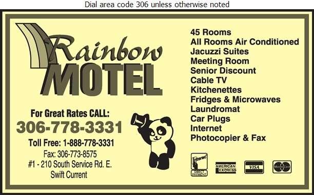 Rainbow Motel - Motels Digital Ad