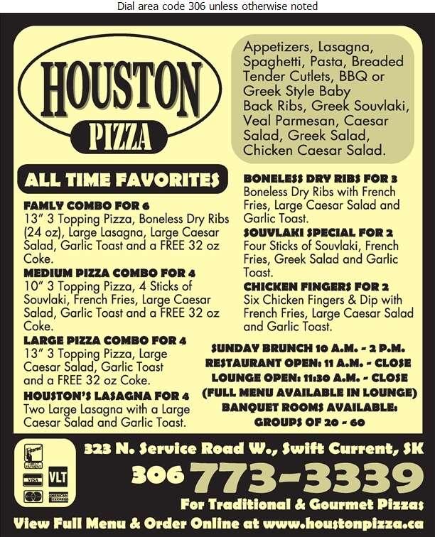 Houston Pizza - Pizza Digital Ad