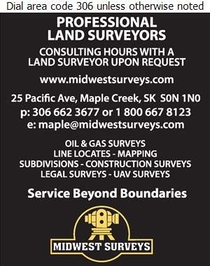 Midwest Surveys Inc - Surveyors Digital Ad