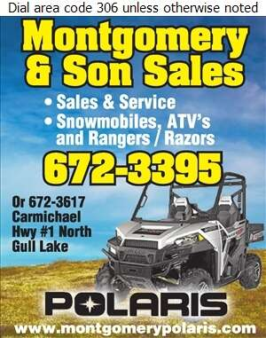 Montgomery & Son Sales - All Terrain Vehicles Digital Ad