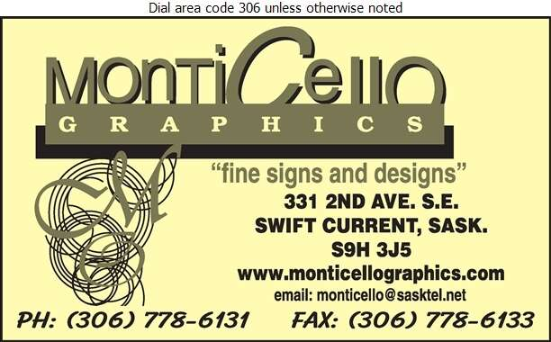 Monticello Graphics - Signs Digital Ad