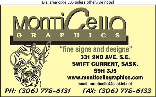 Monticello Graphics - Signs Digital Ad