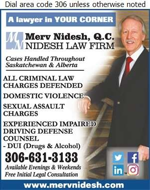 Nidesh Law Firm - Merv Nidesh - Lawyers Digital Ad