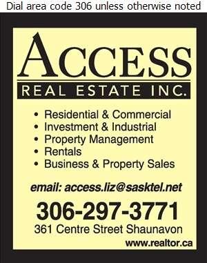Access Real Estate Inc - Real Estate Digital Ad