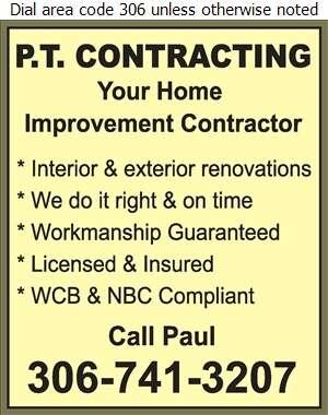 PT Contracting - Roofing Contractors Digital Ad