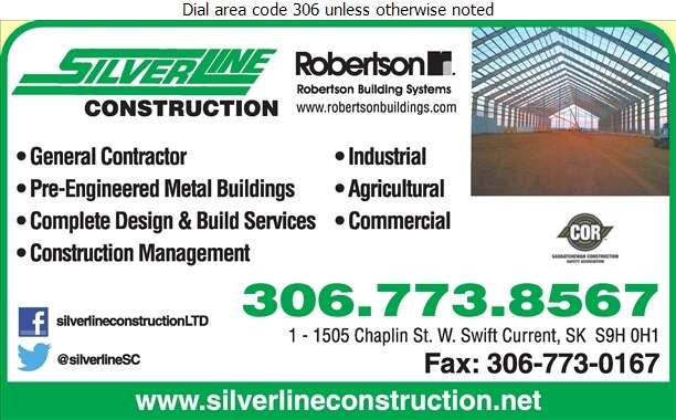 Silverline Construction - Contractors General Digital Ad
