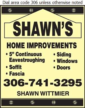 Shawn's Home Improvements - Eavestroughing Digital Ad