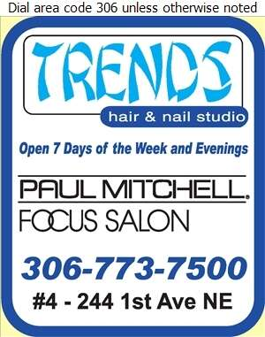 Trends Hair and Nail Studio - Beauty Salons Digital Ad