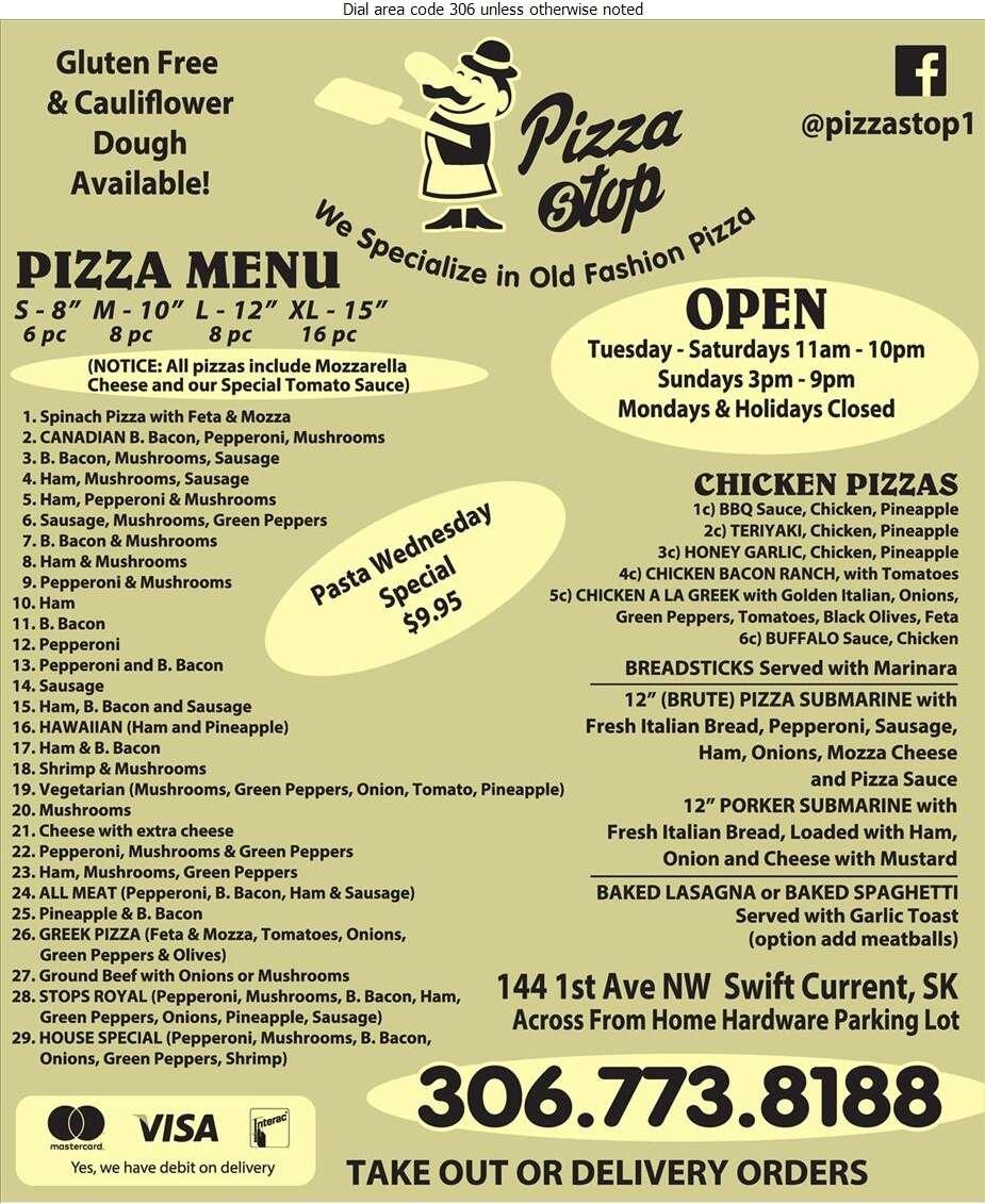 Pizza Stop - Pizza Digital Ad