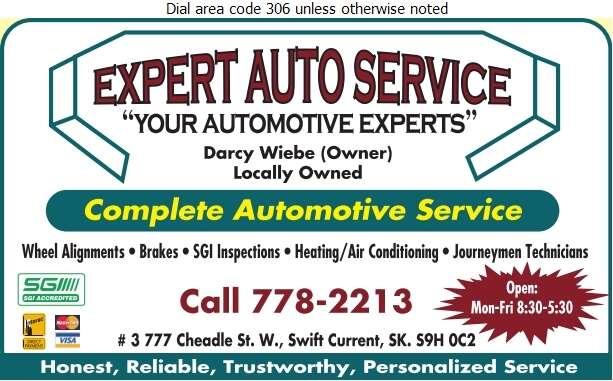 Expert Auto Service - Auto Repairing Digital Ad