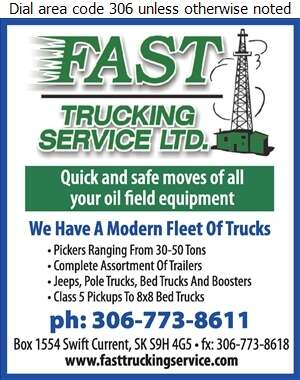 Fast Trucking Service Ltd - Trucking Digital Ad