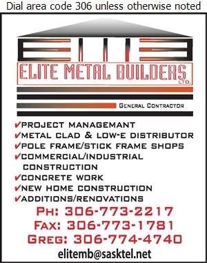 Elite Metal Builders Ltd - Contractors General Digital Ad