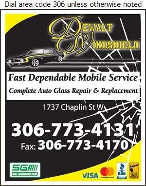 Dewalt Windshield Repair - Windshields Repair & Servicing Digital Ad