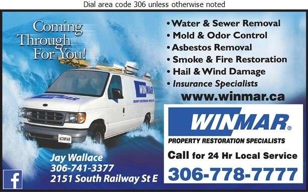 Winmar Property Restoration - Flood Damage Restoration & Floodproofing Digital Ad