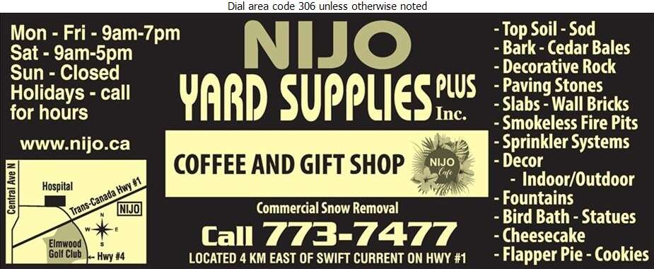 NiJo Yard Supplies Plus - Landscape Contractors & Designers Digital Ad