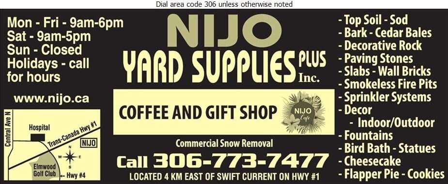 NiJo Yard Supplies Plus - Landscape Contractors & Designers Digital Ad