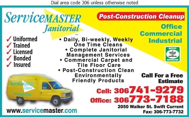 Servicemaster Janitorial Services - Janitor Service Digital Ad