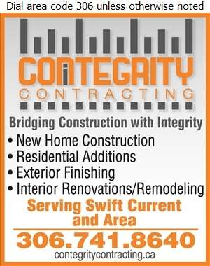 Contegrity Contracting Ltd - Builders & Contractors Digital Ad
