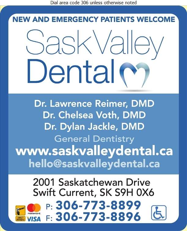 Sask Valley Dental - Dentists Digital Ad