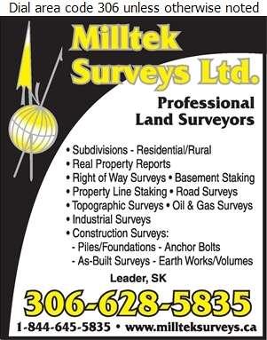Milltek Surveys Ltd - Surveyors Land Digital Ad