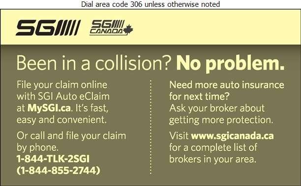 SGI Claims - Insurance Digital Ad