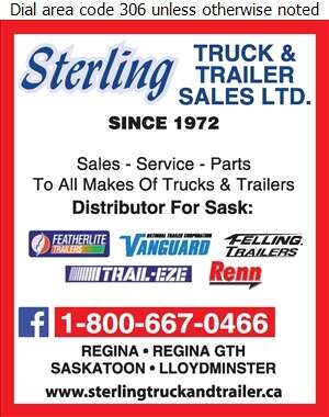 Sterling Truck & Trailer Sales Ltd - Trailers Truck Digital Ad