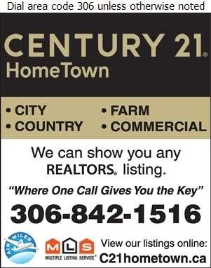 Century 21 HomeTown - Real Estate Digital Ad