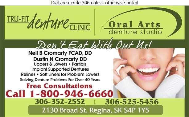 Tru-Fit Denture Clinic - Denturists Digital Ad