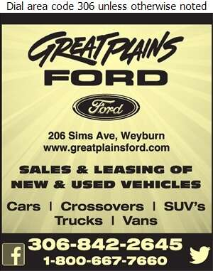 Great Plains Ford - Auto Dealers New Cars Digital Ad