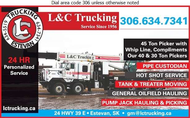 L & C Trucking - Trucking Digital Ad