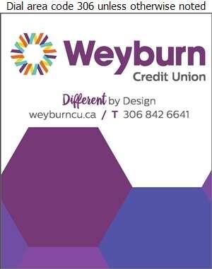 Weyburn Credit Union Ltd (Fax Main Flr) - Banks Digital Ad