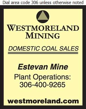 Westmoreland Coal Company (Warehouse Fax) - Coal Whol Digital Ad