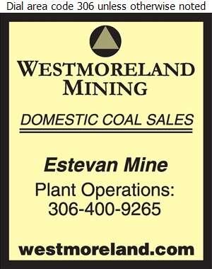 Westmoreland Coal Company (Plant Operations Fax) - Coal Whol Digital Ad