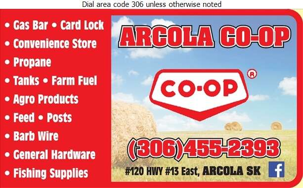 Arcola Co-Op Assoc Ltd - Bulk Stations Digital Ad