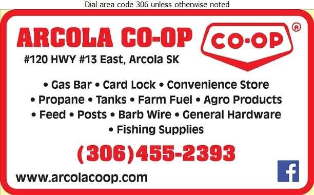 Arcola Co-Op Assoc Ltd - Bulk Stations Digital Ad